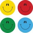 Carson-Dellosa Smiley Faces, Multicolor Shape Stickers
