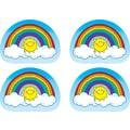 D.J. Inkers Rainbows Shape Stickers