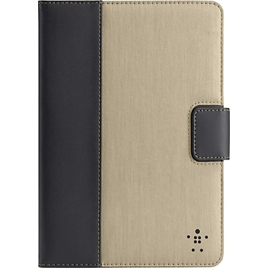 Belkin Chambray Tablet Cover with Stand for iPad Mini, Khaki
