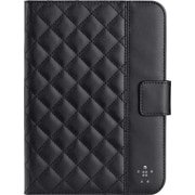 Belkin Quilted Cover with Stand for iPad Mini, Blacktop