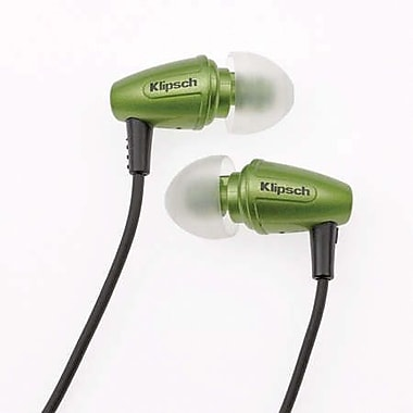 Klipsch Image S3 Earbud Headphones, Galaxy Green