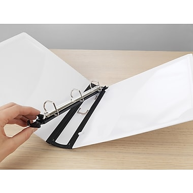 1in. Staples® Better® Binder with Removable FileRings™, White