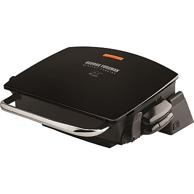 George Foreman G-Broil Nonstick Countertop Grill, Black