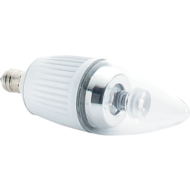 Verbatim Candle LED Lightbulb, Soft White, Dimmable