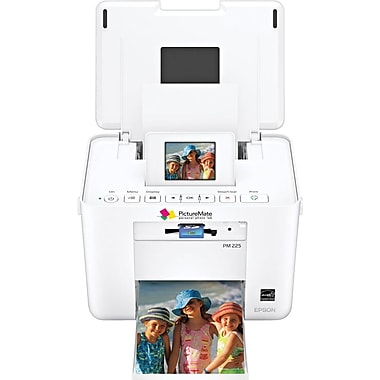 EPSON® PictureMate® Charm Compact Photo Printer