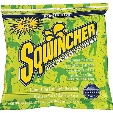 Powder Pack™ 2 1/2 gal Yield Powder Dry Mix Energy Drink, 23.83 oz Pack, Lemon-Lime