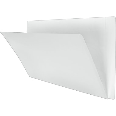 Pendaflex® End Tab Folders with Reinforced Tab, 10- 1/2pt., Legal, Ivory