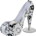 Scotch® Lace High Heel Shoe Designer Desktop Dispenser with Scotch® Magic™ Tape