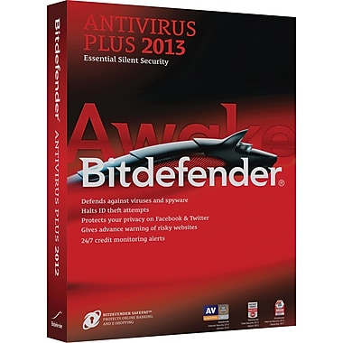 Bitdefender Antivirus Plus 2013 Standard for Windows (3-User) [Boxed]