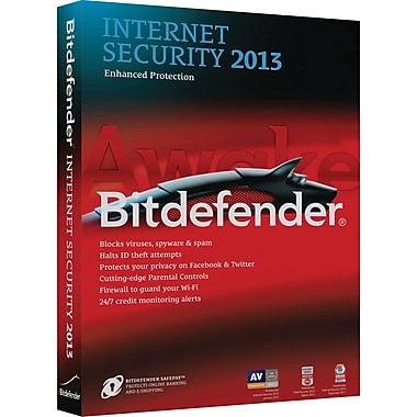 Bitdefender Internet Security 2013 Value for Windows (3-User) [Boxed]