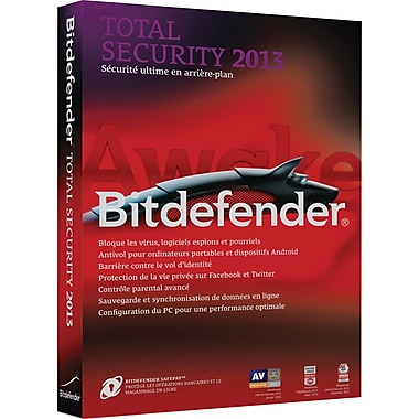 Bitdefender Total Security 2013 Value Edition for Windows (3-User) [Boxed]