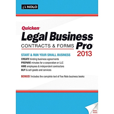 Quicken Legal Business Pro 2013 for Windows (1-User) [Boxed]