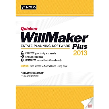 Quicken WillMaker Plus 2013 for Windows (1-User) [Boxed]