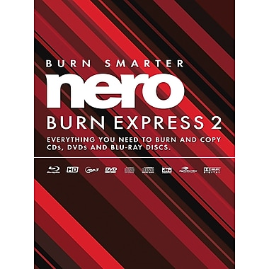 Nero Burn Express 2 for Windows (1-User) [Boxed]