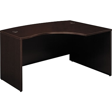 Bush Westfield Right L-Bow Desk, Mocha Cherry