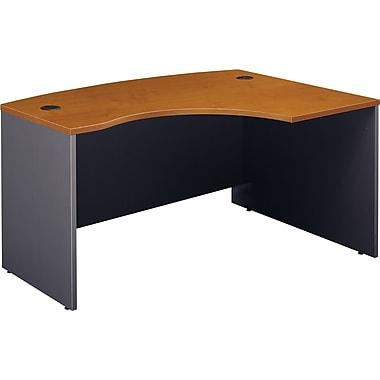 Bush Westfield Right L-Bow Desk, Natural Cherry/Graphite Gray