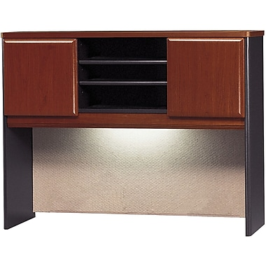Bush Cubix 48in. Hutch, Hansen Cherry/Galaxy