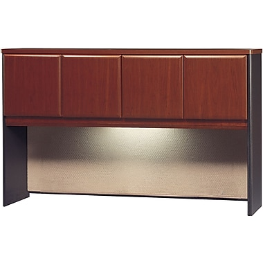 Bush Cubix 60in.W Hutch, Hansen Cherry
