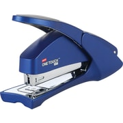 Staples® One-Touch™ Aero Full Strip Stapler, 20 Sheet Capacity, Blue