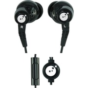 Able Planet True Fidelity® SI210 Ear-Bud Headphones with Multifunction Controller, Black