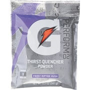 Gatorade® 1 gal Yield Instant Powder Dry Mix Energy Drink, 8.5 oz Pack, Riptide Rush