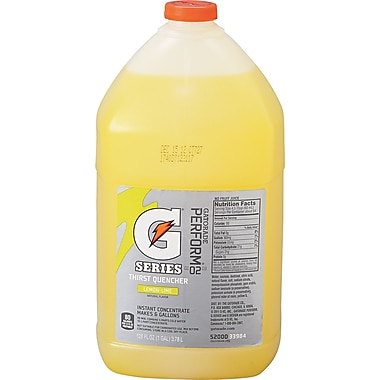 Gatorade® 6 gal Yield Liquid Concentrate Energy Drink, 1 gal Jug, Lemon-Lime