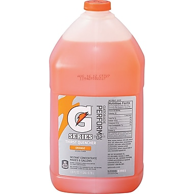 Gatorade® 6 gal Yield Liquid Concentrate Energy Drink, 1 gal Jug, Orange