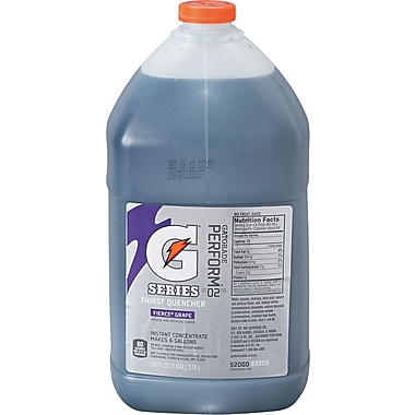 Gatorade® 6 gal Yield Liquid Concentrate Energy Drink, 1 gal Jug, Fierce Grape