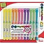 Pentel 24/7™ Liquid Highlighters, Chisel Tip, Assorted Ink,