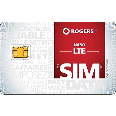 Rogers - Carte Nano SIM LTE