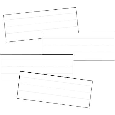 Carson-Dellosa White Word Strips Sentence Strips