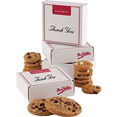 Mrs. Fields®  Original Cookies Thank You Box with Nibblers