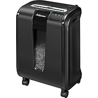 Fellowes Powershred 84Ci 16-Sheet Cross-Cut Paper / CD/DVD / Credit Card / Paper Clips / Staples Shredder (Black)