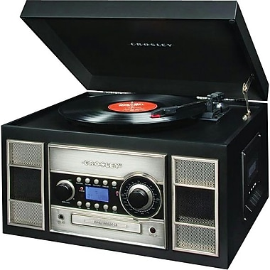 Crosley CR2413A Memory Master II, Black