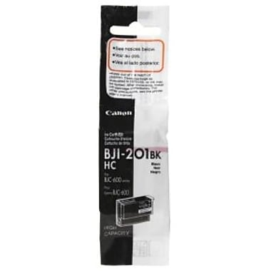 Canon BJI-201BK Black Ink Cartridge (0946A003), High Yield