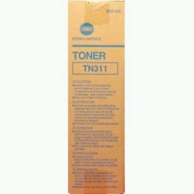 Konica Minolta TN-311 Black Toner Cartridge (8938-402), High Yield