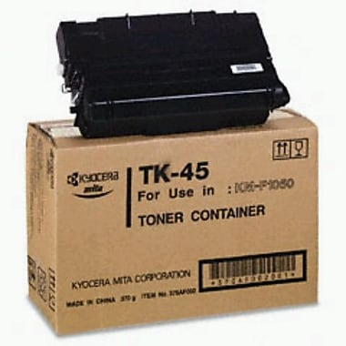 Kyocera Mita TK-45 Black Toner Cartridge (370AF002), High Yield