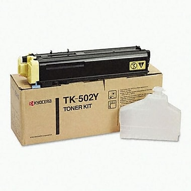 Kyocera Mita TK-502Y Yellow Toner Cartridge (370PD3KM)