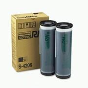 Risograph Black Ink Cartridge (S-4206), High Yield 2/Pack