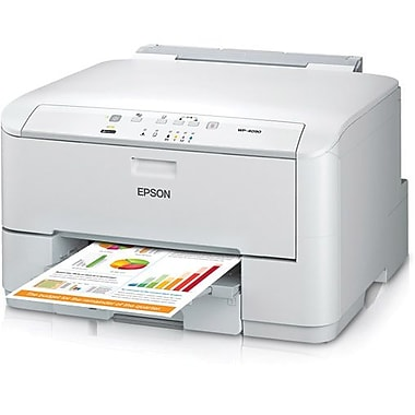 Epson workforce pro c series wp 4090 color printer for Staples color printing cost per page