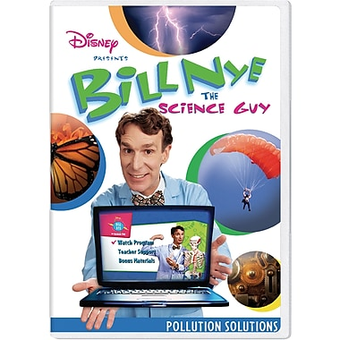 Bill Nye The Science Guy®: Pollution Solutions Classroom Edition [DVD]
