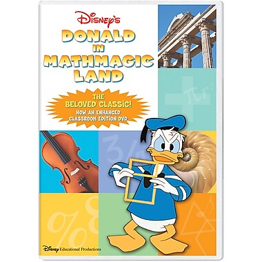 Donald in Mathmagic Land Classroom Edition [DVD]