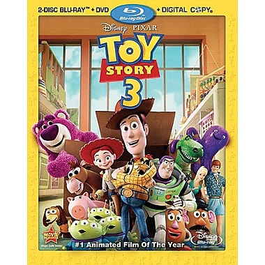 Toy Story 3 [4-Disc Blu-ray + DVD + Digital Copy]