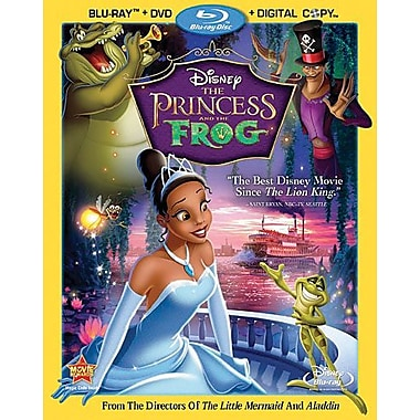 The Princess And The Frog [3-Disc Blu-ray + DVD + Digital Copy]