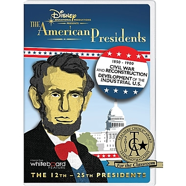 Disney's The American Presidents: 1850-1900 Classroom Edition [DVD]