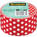 Scotch Brand Duct Tape, Dottie, 1.88in.x 10 Yards