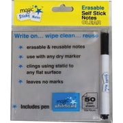Magic Whiteboard™ Magic Sticky Notes, Clear