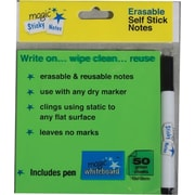 "Magic Whiteboard, 4"" x 8"", Film Magic Sticky Notes (MW1352)"