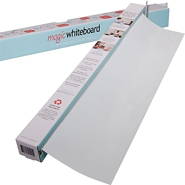 Magic Whiteboards Magic Whiteboard 15 Sheet Roll