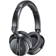 Audio-Technica QuietPoint Active Noise-Canceling Over-Ear Headphones, Black